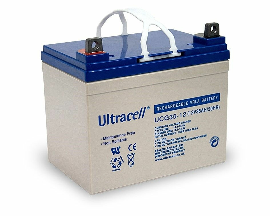Bateria de Gel 12V 35Ah (195 x 130 x 159 mm) - Ultracell
