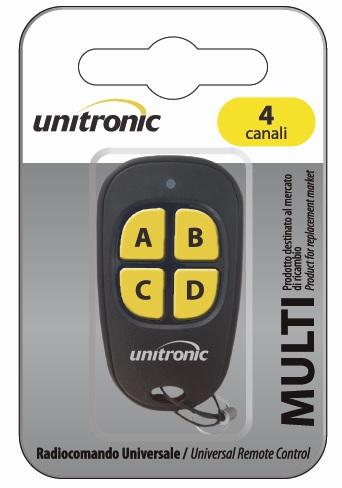 Comando Garagem Multi Frequência 270 ~ 868 Mhz - UNITRONIC