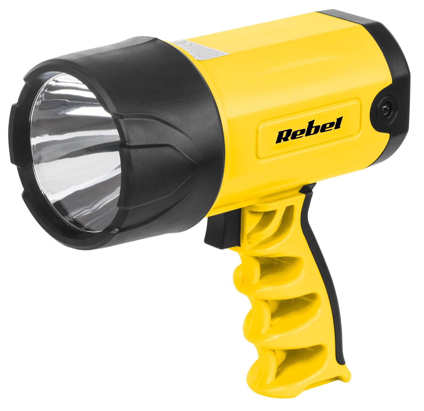 Lanterna CREE LED 3W 150Lm Recarregável (Casa/Carro) - VIPOW