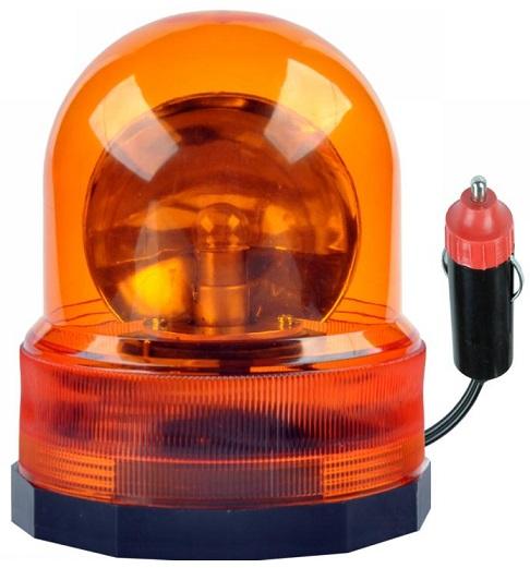 Luz de Emergência Magnética 12V Laranja - KEMOT