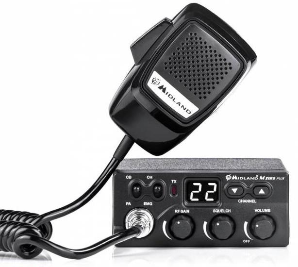 Rádio CB AM/FM - MIDLAND 203