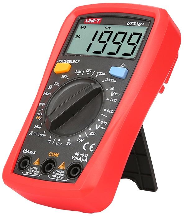 Multimetro Mini Digital CAT ll 600V (UT33B+) - UNI-T