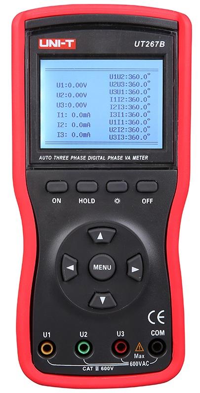 Indicador/Detector de Fases c/ LCD - UNI-T