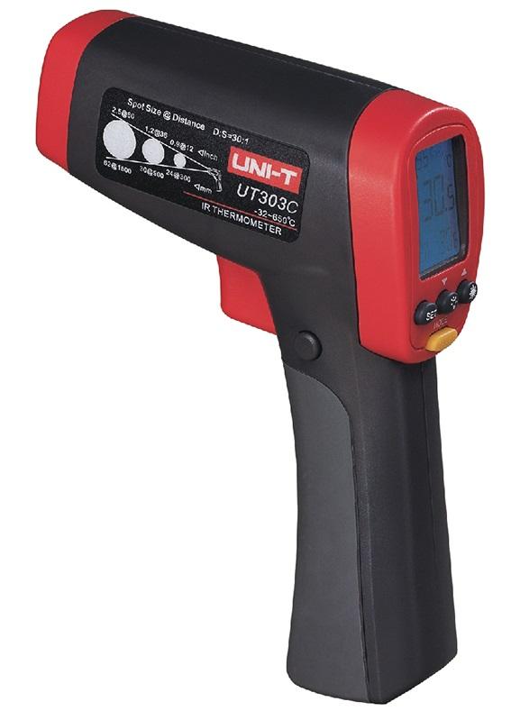 Termómetro Digital por Infra-Vermelhos (-32ºC ~ 1050ºC) - UNI-T