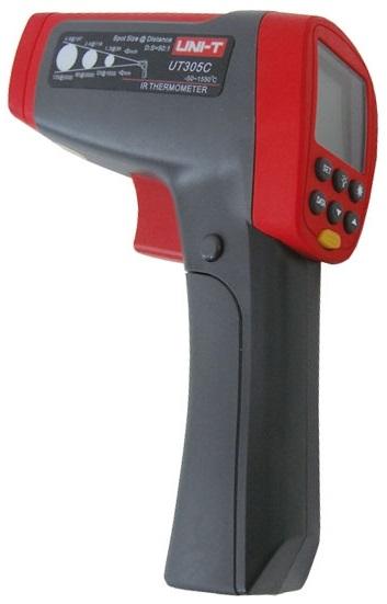 Termómetro Digital Profissional por Infra-Vermelhos - UNI-T