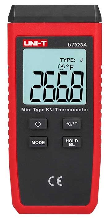 Termómetro Digital c/ Sonda (-50ºC ~ 1300ºC) - UNI-T