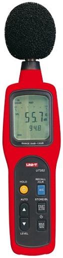 Sonómetro Digital 30...130 dB c/ Gravação de Dados - UNI-T