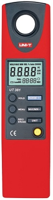 Luxímetro Digital 20 ~ 20000 Lux - UNI-T