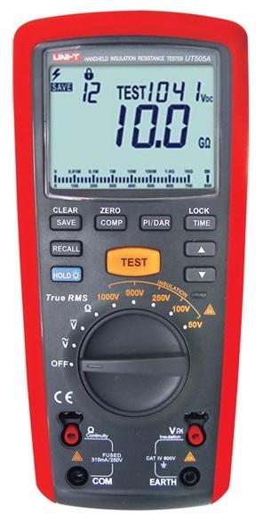 Multimetro c/ Medidor de Resistencia de Isolamento - UNI-T