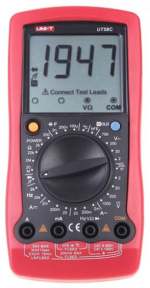 Multimetro Digital - UNI-T