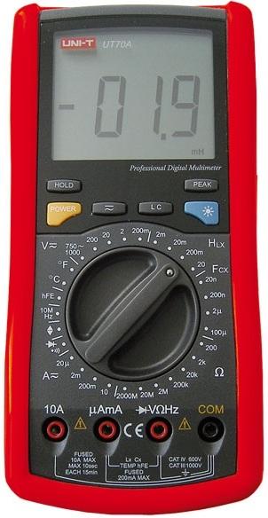 Multimetro Digital Profissional - UNI-T