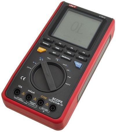 Multimetro e Osciloscópio Digital c/ Interface USB - UNI-T