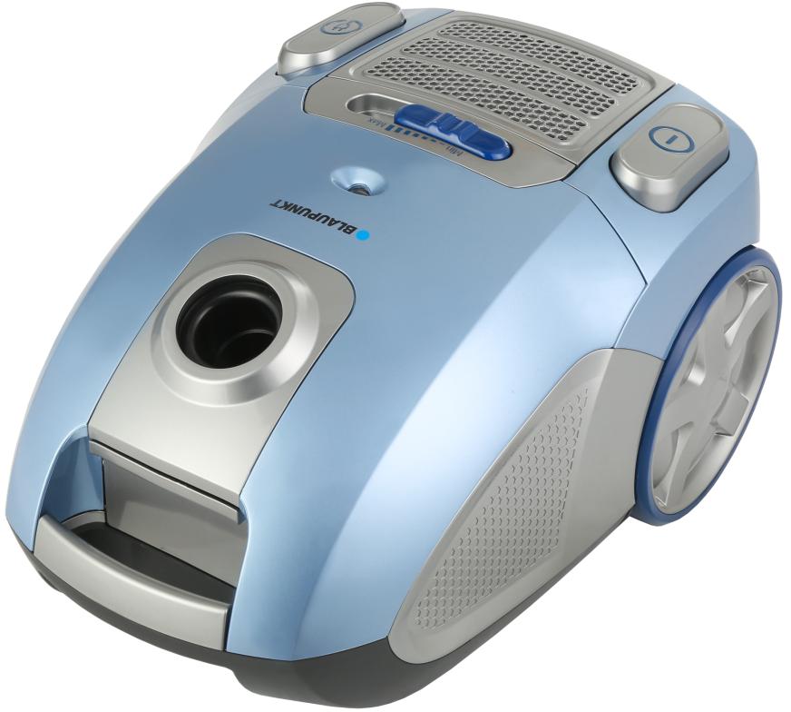 Aspirador c/ Saco VCB701 3.5L 700W (Azul / Cinzento) - BLAUPUNKT