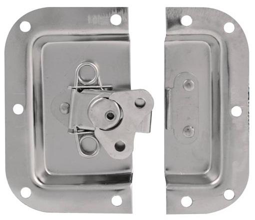 Fecho Metálico Branco (105x102mm) - HQ POWER