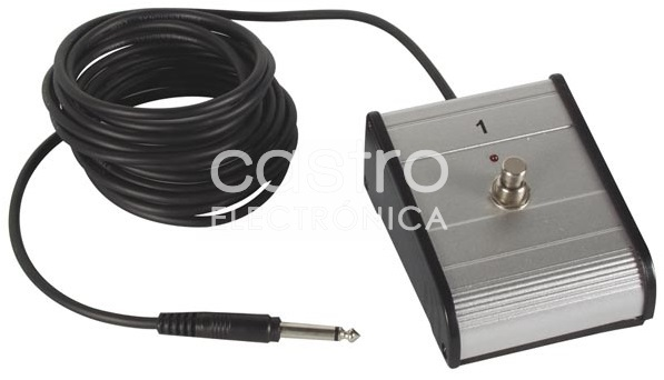 Interruptor de Pé / Pedal (Jack 6,35mm) - 3,5 mts