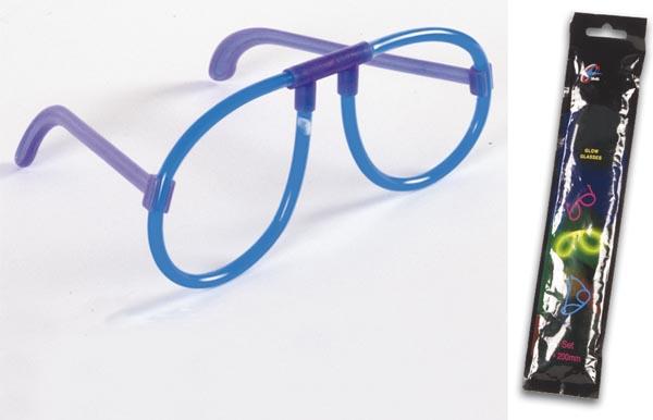 Óculos Maleáveis Luminosos (LIGHT STICK) - Azul