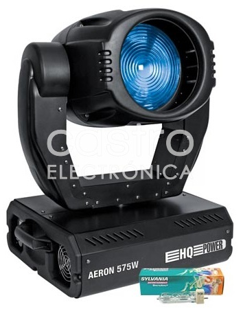 Moving Head AERON 575S WASH 575W c/ 16 Canais + Mala Transporte - HQ POWER