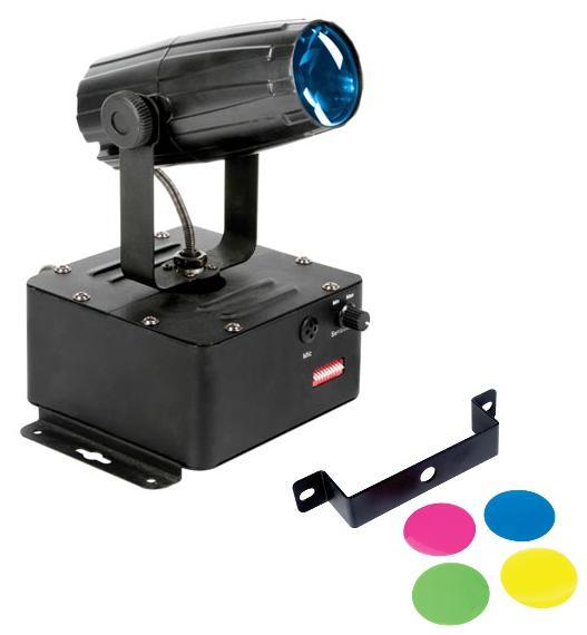 Projector Robô Mini Foco PINSPOT - 1x LED Cree de 3W