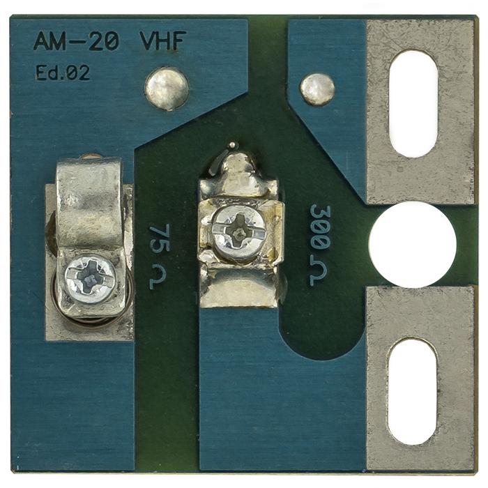 Adaptador de Impedância VHF