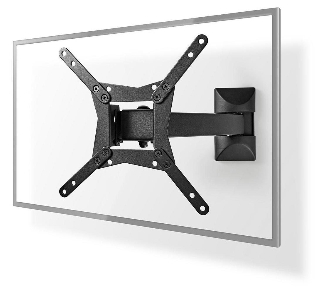 Suporte TV-LCD-LED Rotação Completa Bi-Direccional 10 - 32 (Preto) - NEDIS