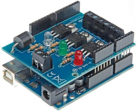 Módulo Shield RGB para Arduino - VELLEMAN