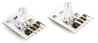 Módulo LED RGB (2pcs) Compatível c/ Arduino - VELLEMAN
