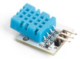 Módulo Sensor Digital de Humidade e Temperatura (DHT11) Compatível c/ Arduino - VELLEMAN