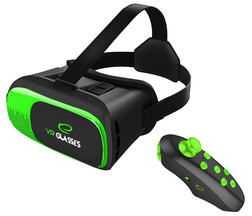 Óculos Realidade Virtual 3D + Comando Bluetooth p/ Sistemas ANDROID e IOS - ESPERANZA