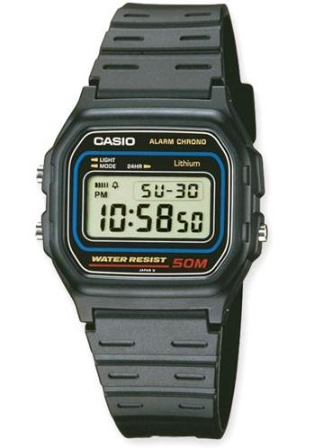 Relógio CASIO W-59-1 (Bracelete Plástico)