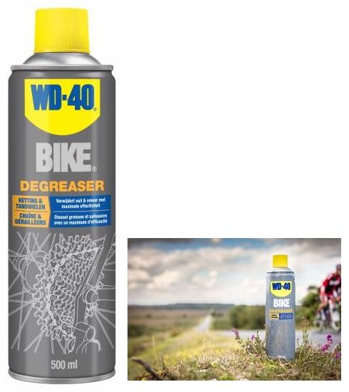 Spray Multiusos/Desengordurante para Bicicleta 500ml - WD-40