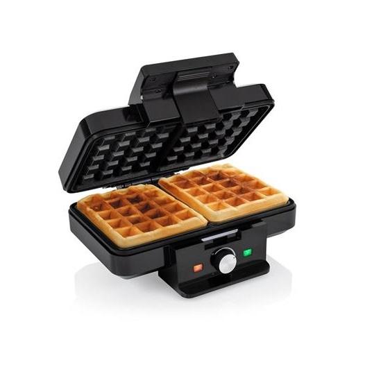 Máquina de Waffles WF-1165 22x13cm 1000W (Preto) - TRISTAR