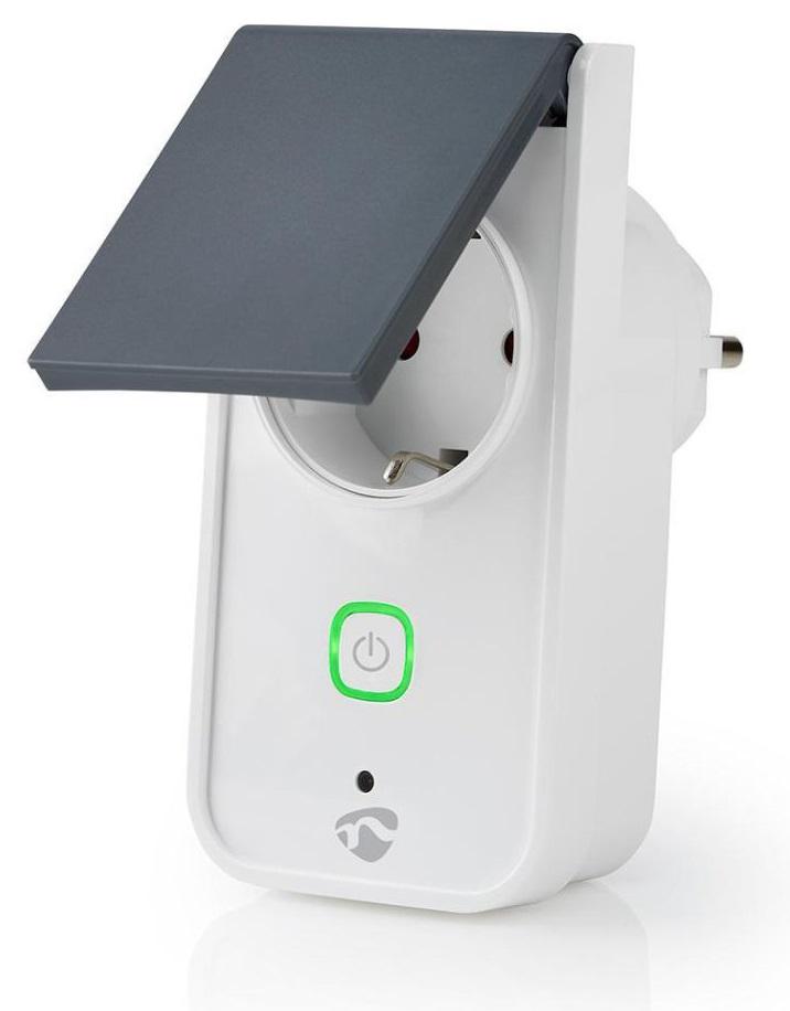 Tomada Eléctrica Inteligente Exterior Wi-Fi 16A - NEDIS