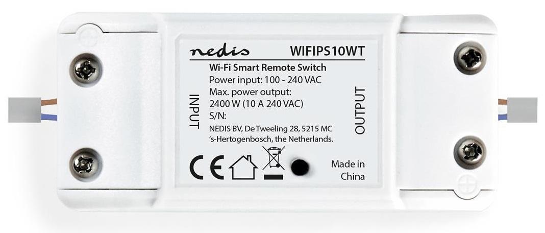Disjuntor Interruptor Inteligente c/ Wi-Fi 10A - NEDIS