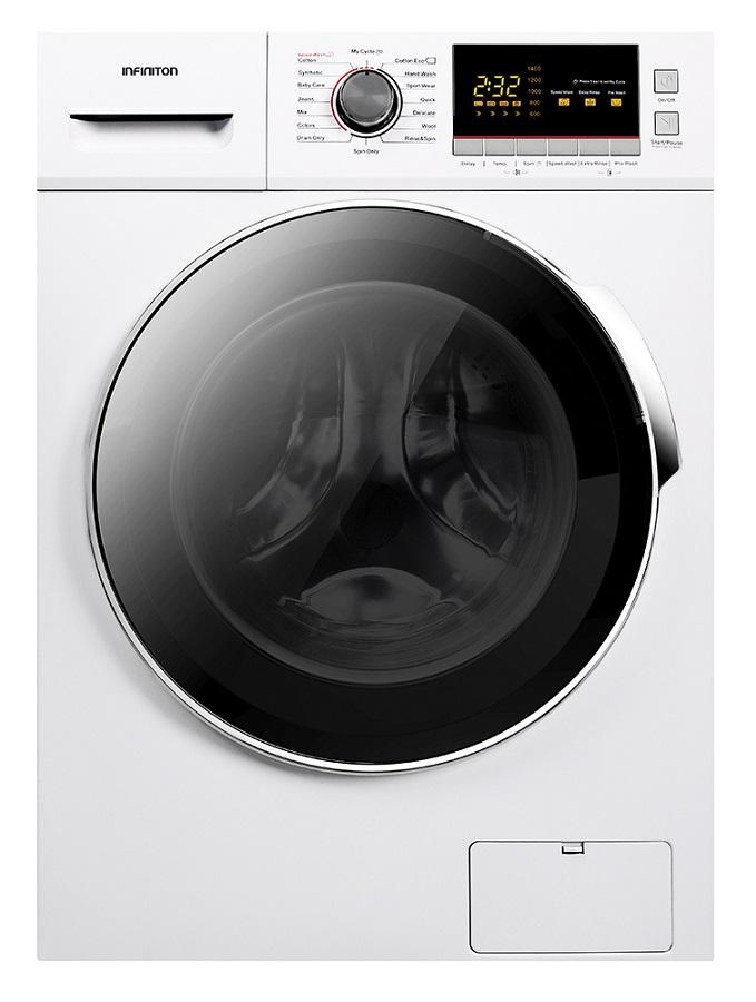 Máquina de Lavar Roupa 12Kg 1400RPM A+++ (Branco) - INFINITON