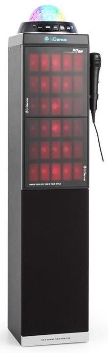Coluna Estilo Torre Bluetooth e Microfone c/ Efeitos de LED - iDance