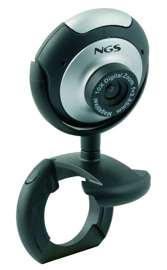 Web Cam 5MP USB2.0 - NGS XpressCam300