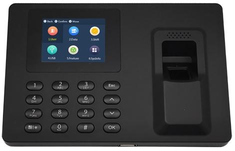 Leitor Biométrico Controlo de Acessos/Presenças (TCP/IP/USB/Excel)