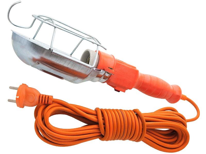 Gambiarra c/ Protecção em Rede Metálica (2 x 0,75mm²) 220VAC 100W - 10 mts
