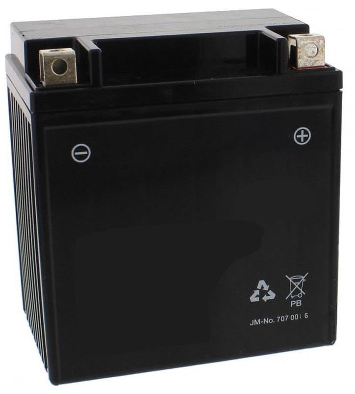 Bateria PB p/ Mota 12V 11Ah (YB10L-A) - ProFTC