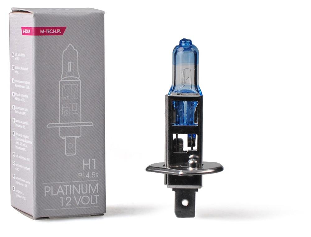 Lampada p/ Automóvel H1 55W 12V Platinum