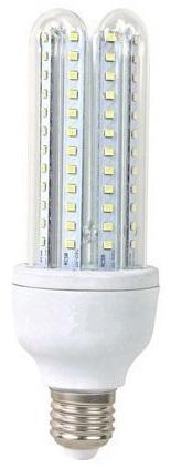 Lampada LED E27 B5 T4 4U 220V 23W Branco Q. 3000K 1980Lm