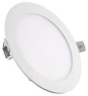 Painel de LED Redondo Ø11,5cm 9W 3000K 470Lm