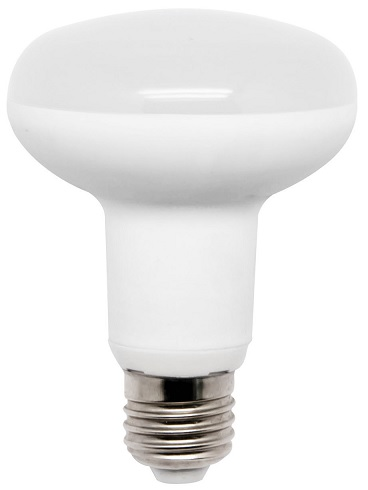 Lampada LED R63 220V E27 9W Branco F. 6000K 120º 790Lm