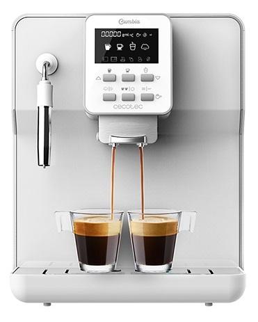 Máquina de Café Automática Power Matic-Ccino 6000 Série Branca - CECOTEC