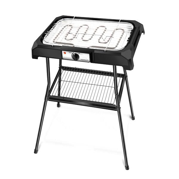 Grelhador / Barbecue Eléctrico 2000W (Preto)