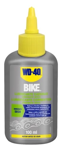 Lubrificante p/ Correntes Bicicleta 100ml (Ambientes Secos) - WD-40