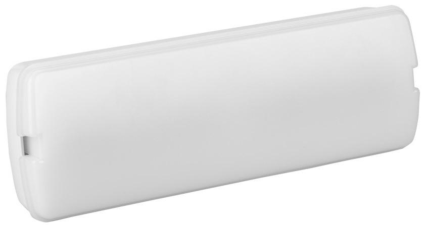 Armadura Saída Emergência em LED 3W 300Lm (Não-Permanente) - GSC