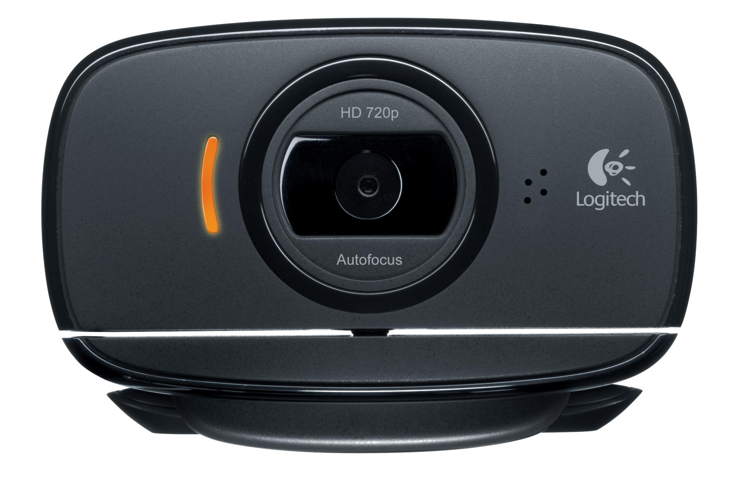 WebCam 8MP USB2.0 (Preto) - Logitech C525