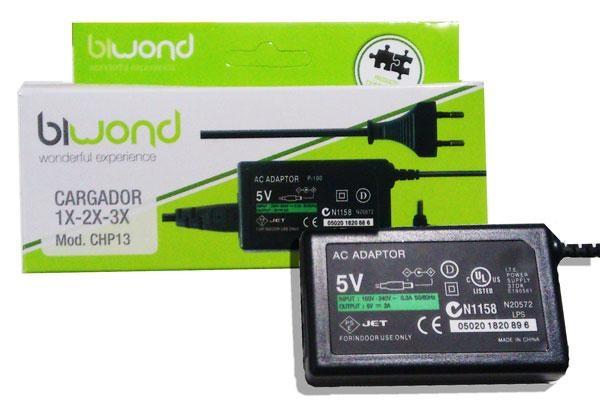 Alimentador 5V 2A (Compativel com PSP 1000/2000/3000) - BIWOND