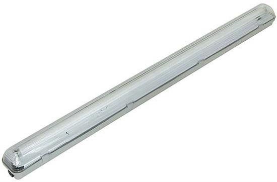 Armadura Estanque p/ 2x Lampadas Tubulares LED T8 60cm